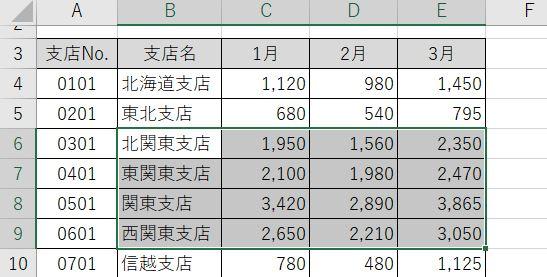Excel_表の一部からshift2