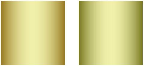 ゴールドの色違い