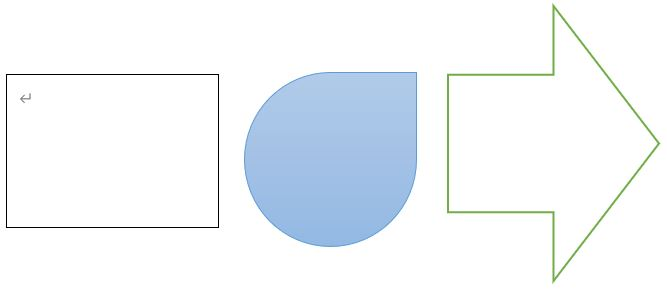 3つの図形